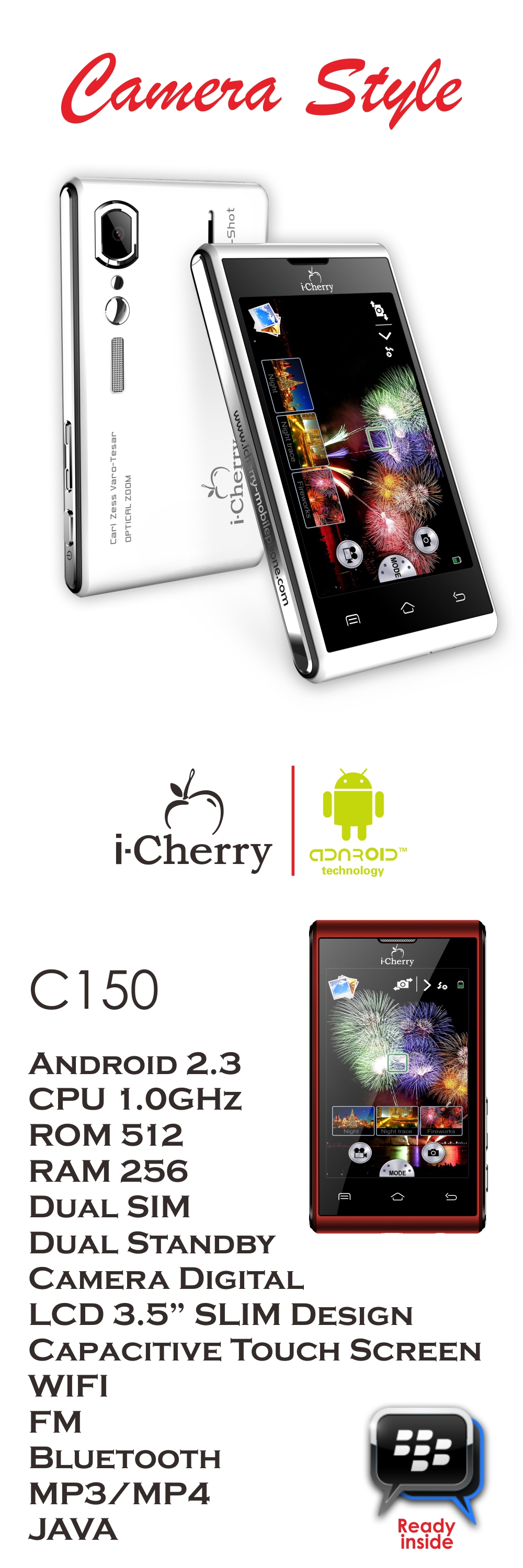 C150 Android 3.5